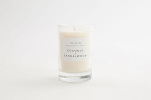 NA NIN Pairings Candle 5oz | Coconut + Sandalwood