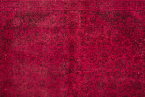 10x12 Persian Overdyed Rug | TOUFAN