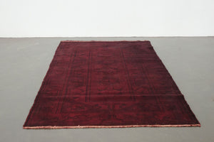 4x6.5 Turkish Overdyed Rug | FAZILET