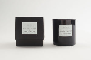 NA NIN Pairings Candle 9oz | Black Pepper + Cedarwood
