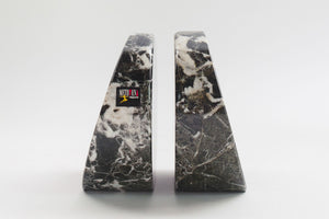 Black Onyx Bookends