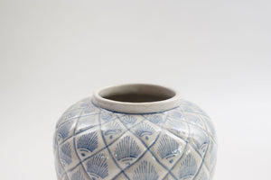 Hand Painted Ginger Jar
