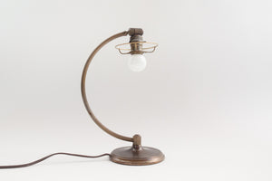Brass Deco Lamp