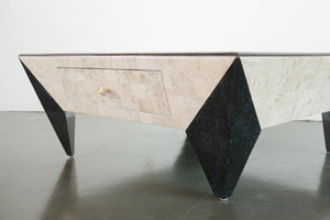 Postmodern Stone Coffee Table
