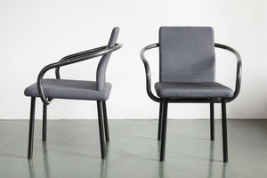 Pair Knoll Ettore Sottsass Chairs