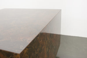 Faux Burl Coffee Table