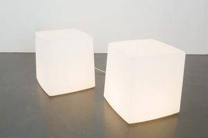 French Cube Lamp