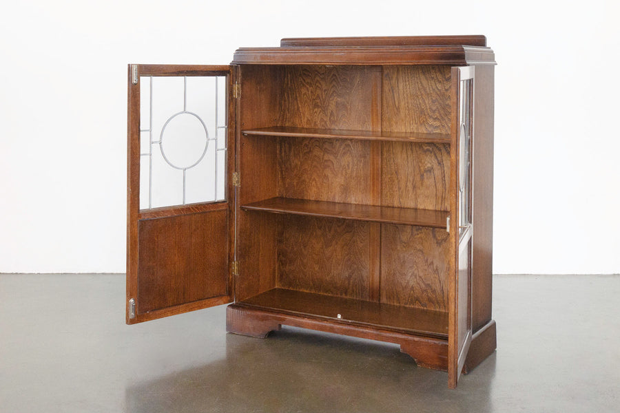 Deco Glass Cabinet