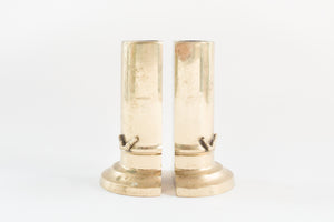 Brass Vase Bookends