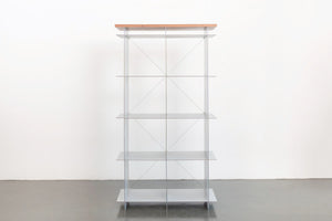 Cube and Cable Shelving Unit