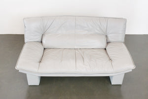 Nicoletti Leather Loveseat