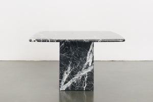 Black Marble Side Table