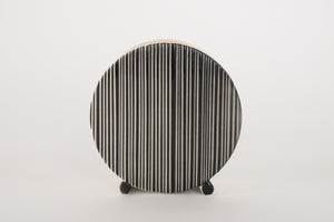 Deco Striped Vase