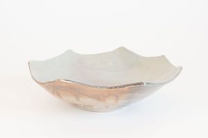 Scalloped Studio Pottery Bowl