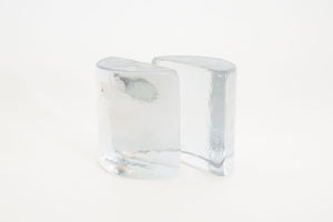 Blenko Glass Bookends