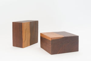 Minimalist Wood Bookends