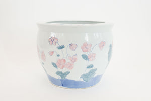Hand Painted Koi Planter