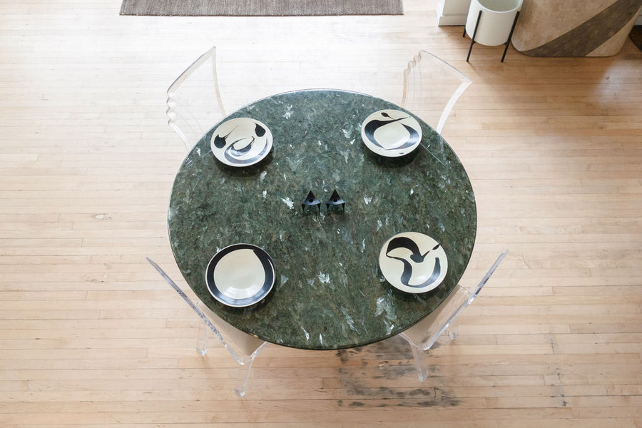 Italian Stone Dining Table