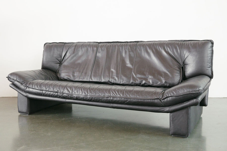 Nicoletti Leather Sofa