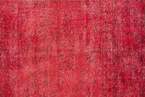 6.5x10 Turkish Overdyed Rug | ILKAN