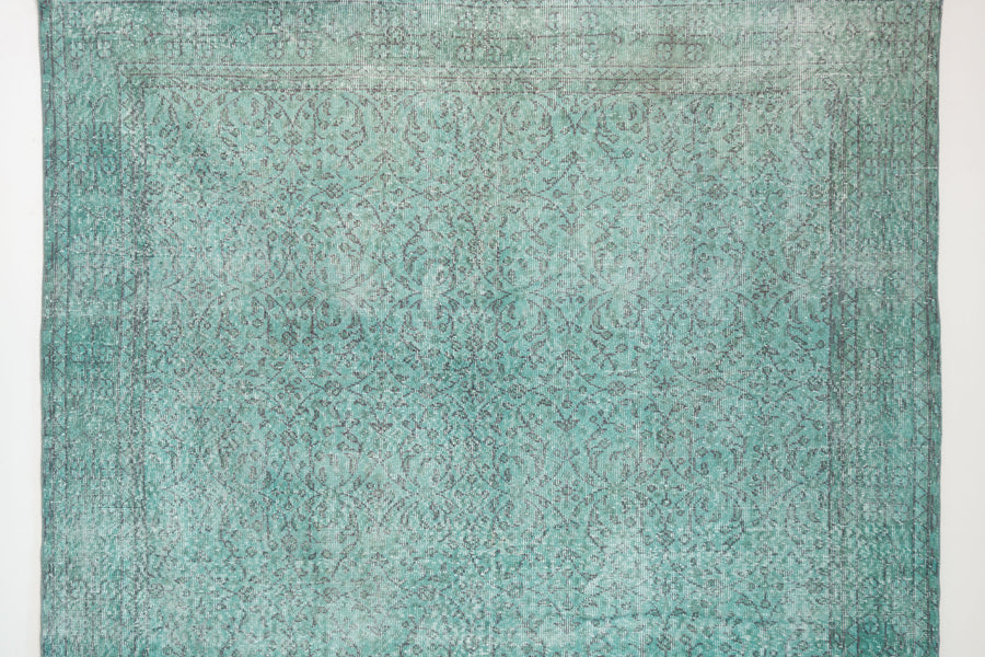 7x10 Turkish Overdyed Rug | CEMIL