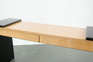 Modern Lacquer Maple Desk