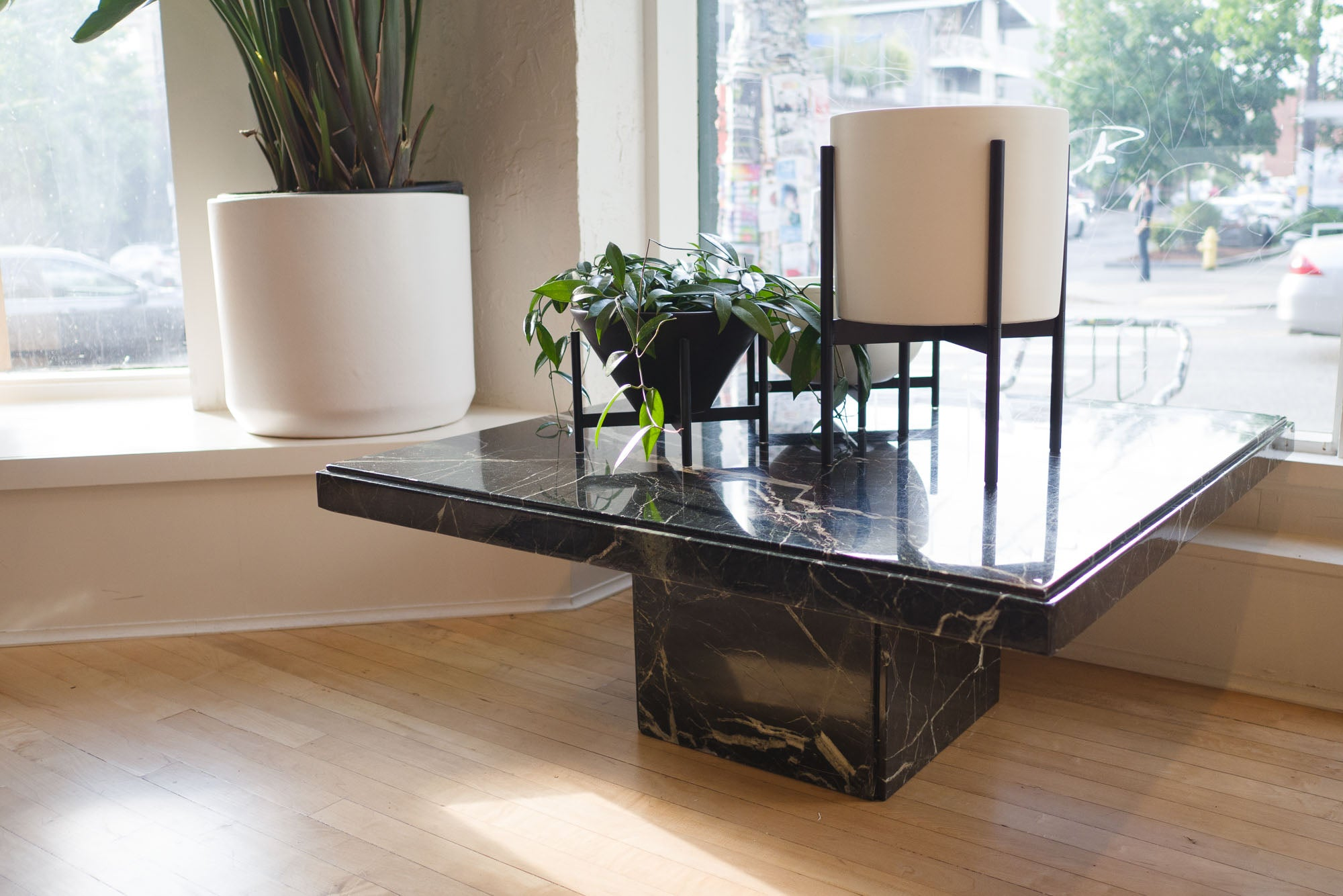 Square Marble Coffee Table Homestead Seattle