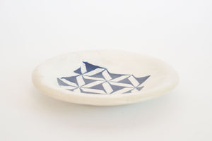 Geometric Glazed Plate