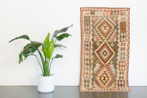 3.5x7 Turkish Kilim Rug | AYDIN