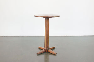 Deco Pedestal Side Table
