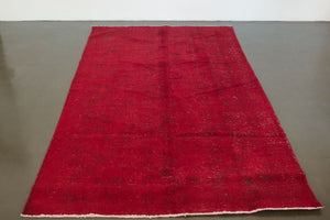 5x8 Turkish Overdyed Rug | OKANER