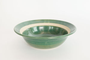 Green Pottery Bowl