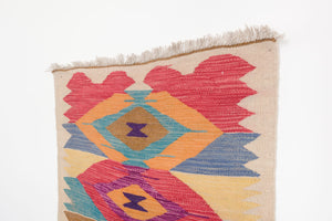 2.5x7 Turkish Kilim Rug | HANIM