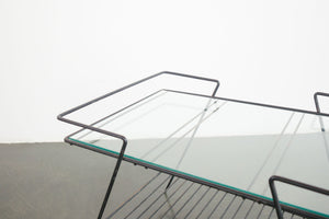 Wire and Glass Table