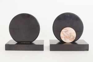 Mod Stone Bookends