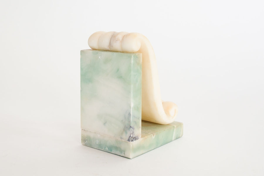 Green Stone Bookend
