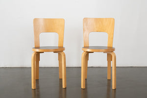 Pair of Aalto Dining Chairs