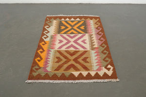 2x3 Turkish Kilim Rug | HALMAN