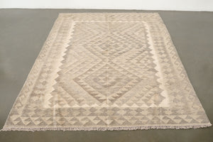 5x6.5 Turkish Kilim Rug | GERCEK