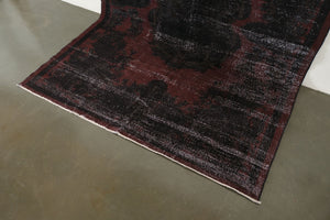 7x10.5 Turkish Overdyed Rug | DOGA