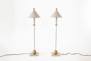 Pair of Sonneman Lamps