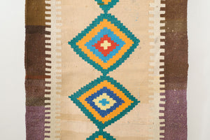 3x8 Turkish Yoruk Kilim Runner | CALIK