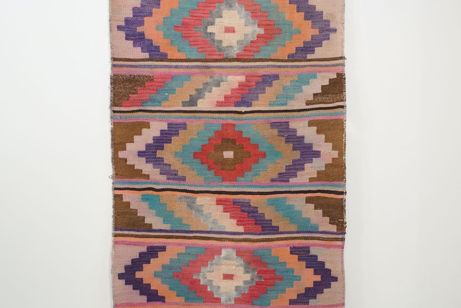 3x9 Turkish Yoruk Kilim Rug | SAIR