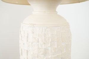 Plaster of Paris Lamp