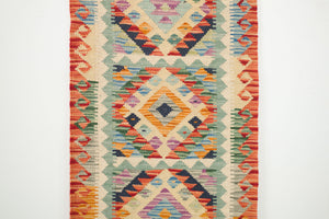 2x6.5 Turkish Kilim Runner Rug | TUN