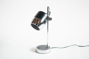 Black and Chrome Mod Lamp