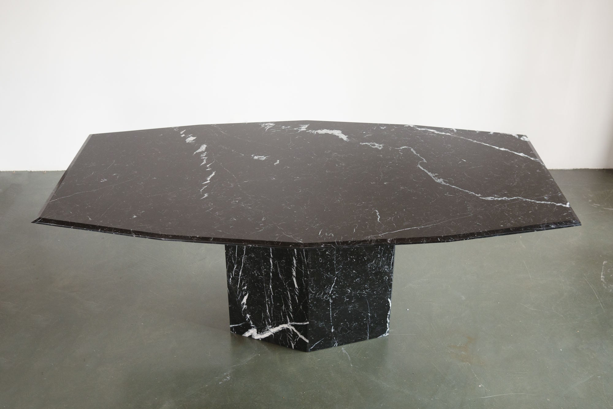 Tapered Marble Dining Table Homestead Seattle