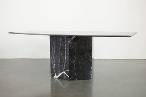 Tapered Marble Dining Table