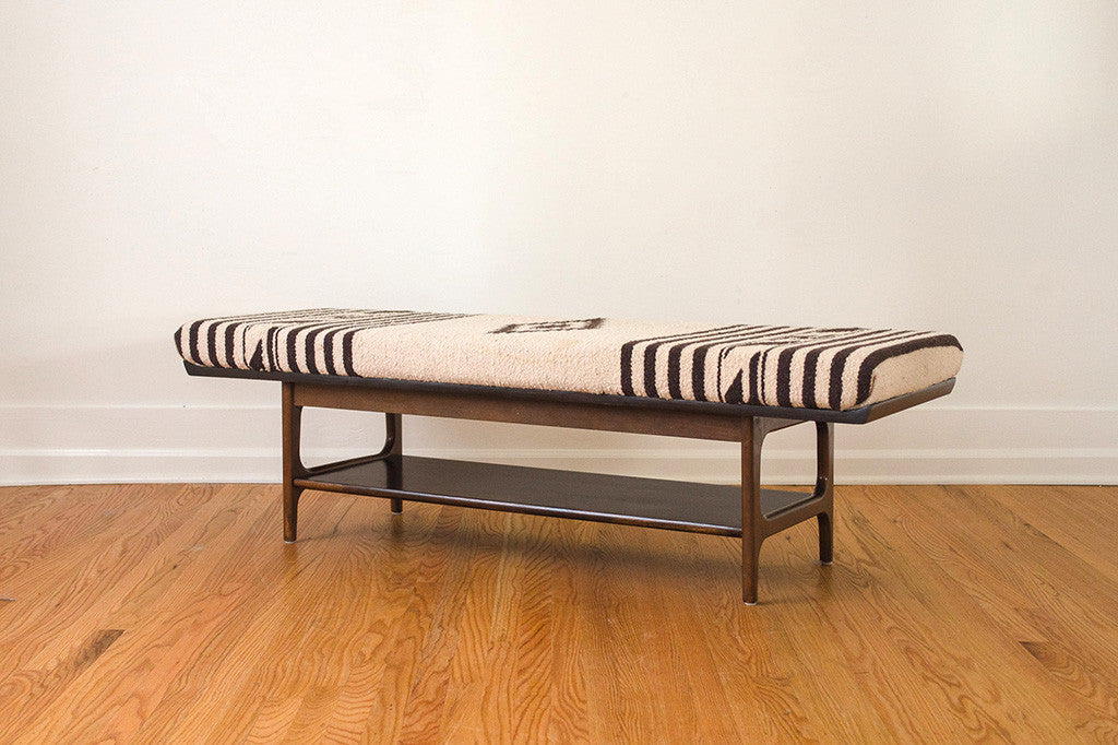 MCM Natural Wool Bench 03