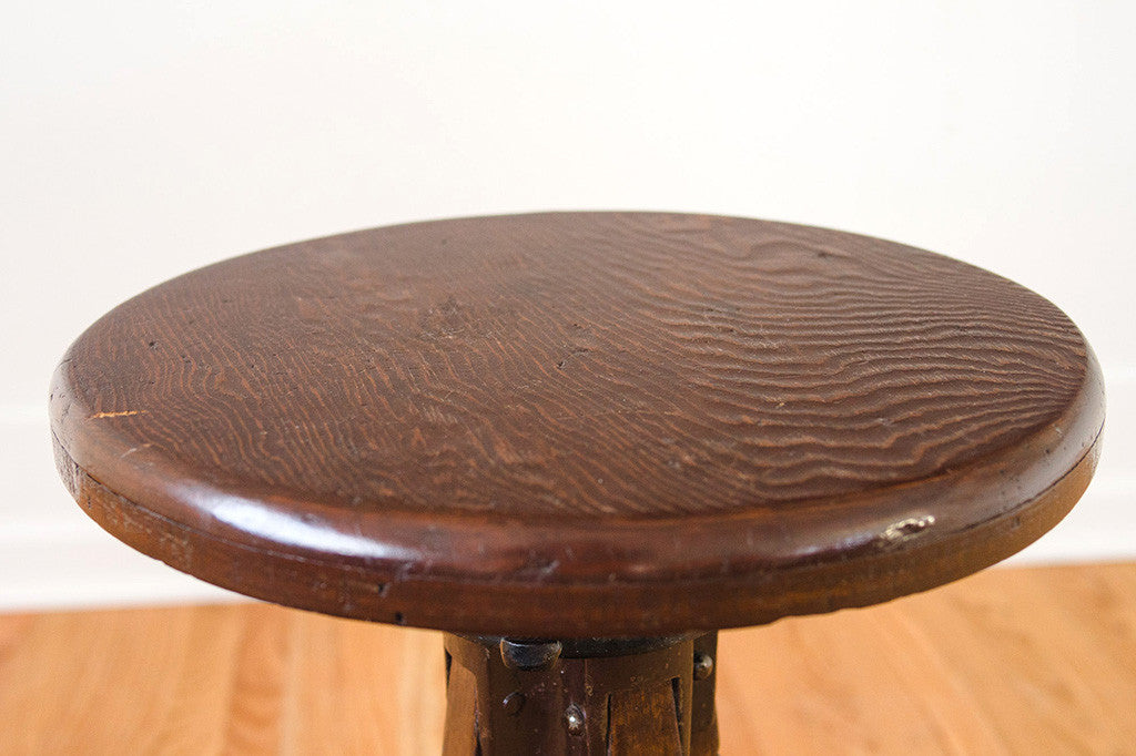 Dark Oak Ship Stool